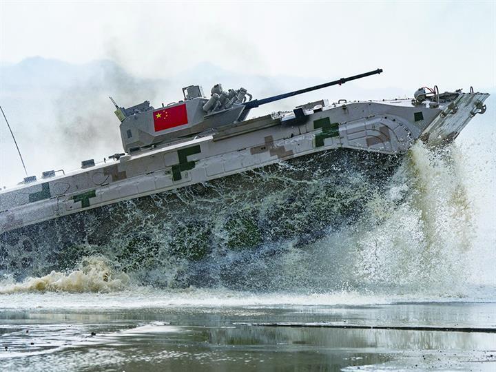國際軍事比賽中國贏得4個冠軍5個亞軍 總分第二
