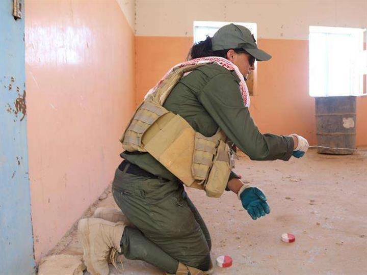 對不起,媽媽去排雷了——記伊拉克雅茲迪排雷團隊