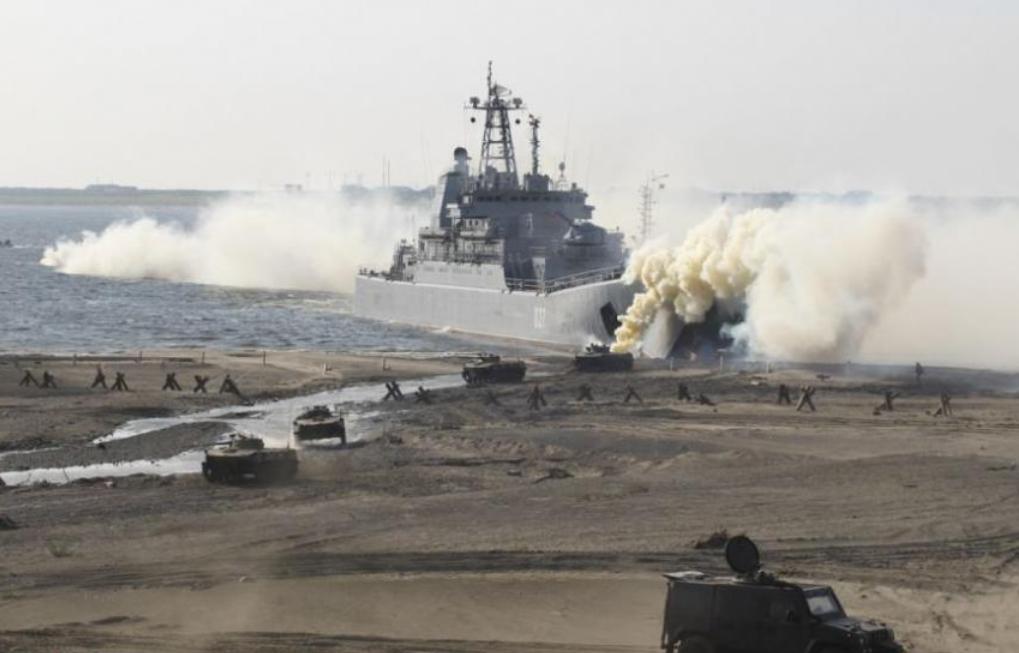 首次參演!俄軍千噸級戰艦現身北極軍演