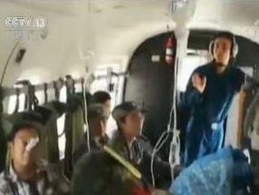 中方醫療隊從聯合演練轉為實地救援