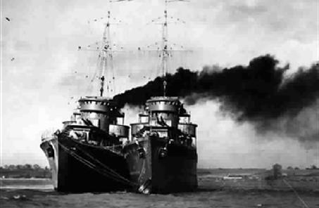揭秘二戰第一次海軍行動