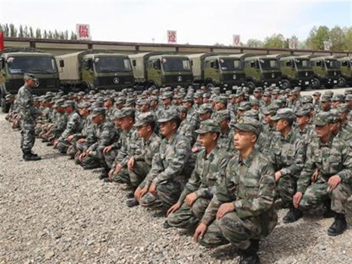 西藏軍區青藏兵站部某大站運用光榮歷史搞活主題教育