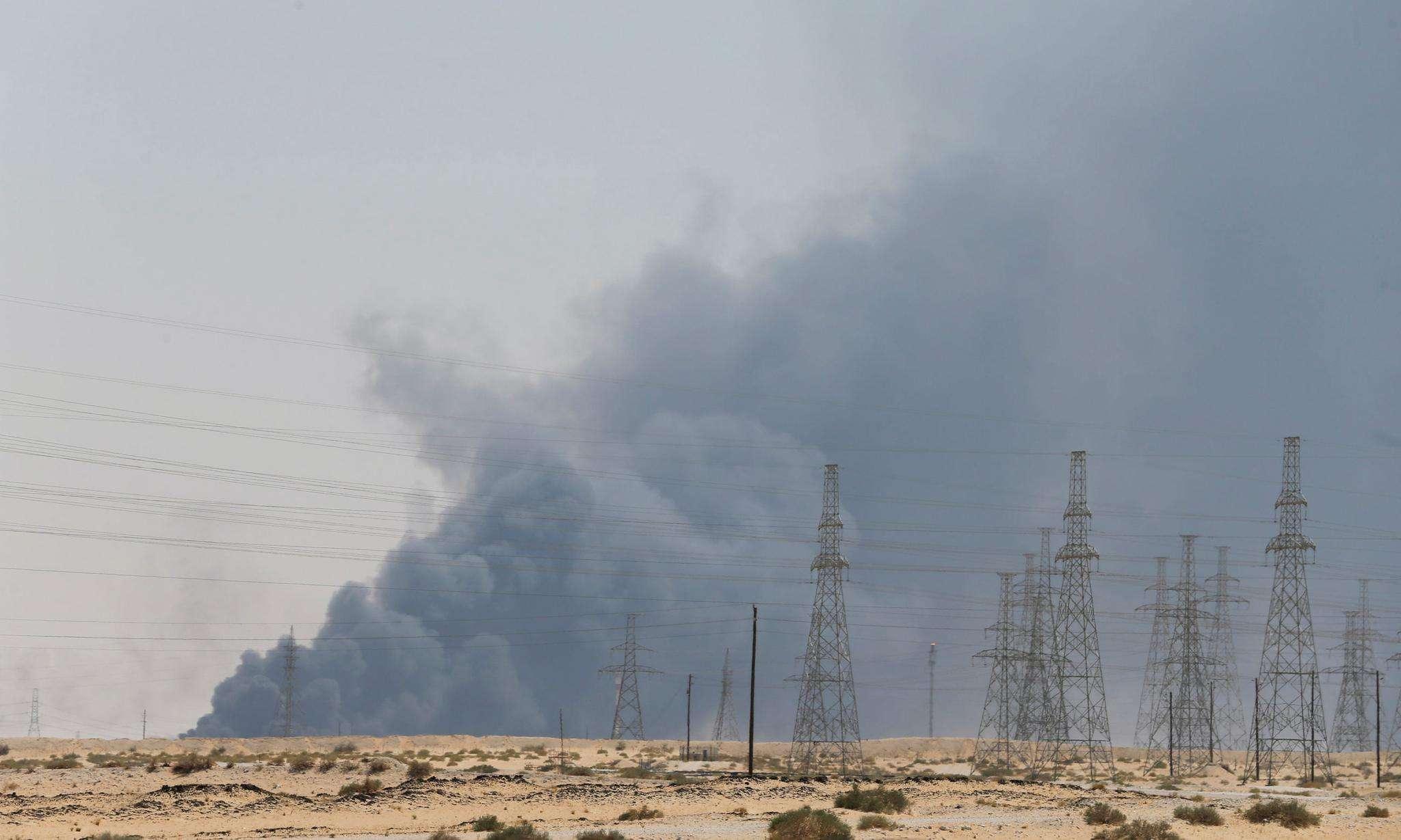 也門胡塞武裝襲擊沙特石油設施