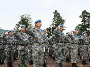 我第22批赴剛果(金)維和工兵分隊 榮獲聯剛團司令嘉獎令