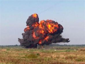 俄軍在加裏寧格勒地區演練反入侵作戰