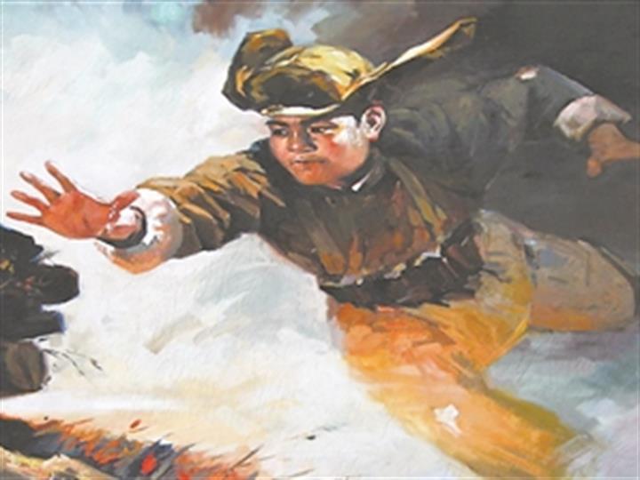 黃繼光:英雄無畏,舍身堵槍眼