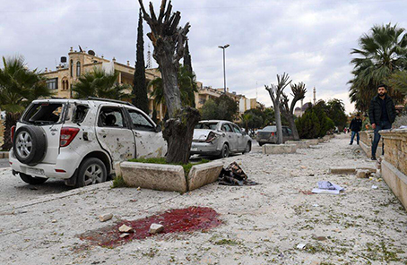 敘利亞北部城市阿勒頗遭反對派襲擊6死15傷