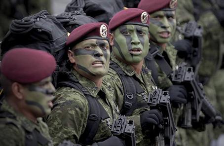 墨西哥軍方擊斃11名武裝分子