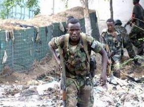 """索馬裏政府軍打死16名""""青年黨""""武裝分子"""