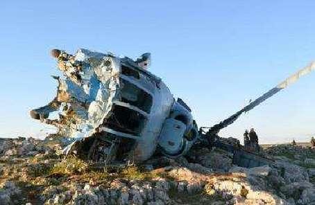 敘利亞政府軍一直升機在阿勒頗省被導彈擊落
