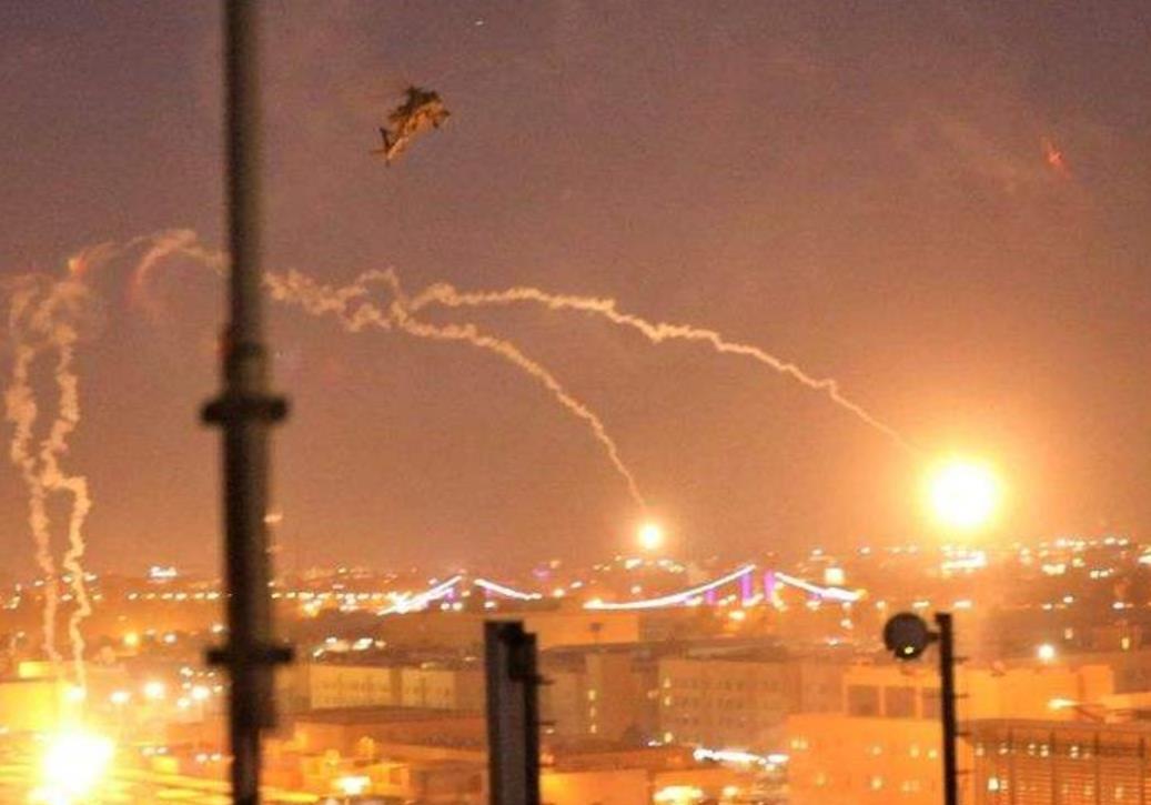 伊拉克首都遭火箭彈襲擊未致人員傷亡