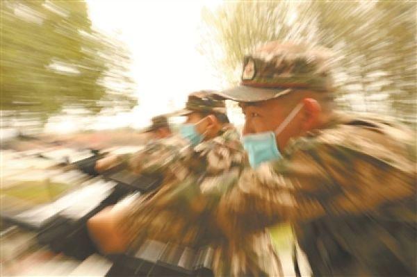 科學防控,為戰備訓練提供有力支撐