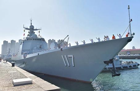 我海軍第33批護航編隊訪問孟加拉國