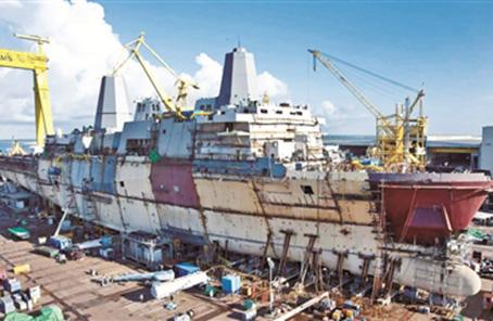 美海軍造艦計劃凸顯霸權野心