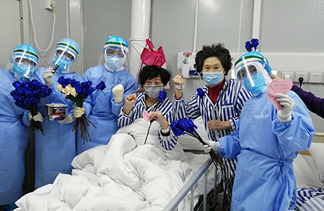 """這個病區充滿愛——火神山醫院感染四科一病區戰""""疫""""記事"""