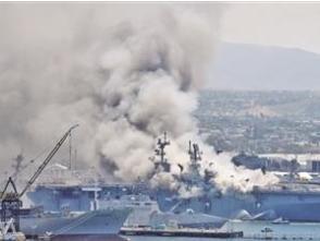 軍艦起火是否影響美軍戰備