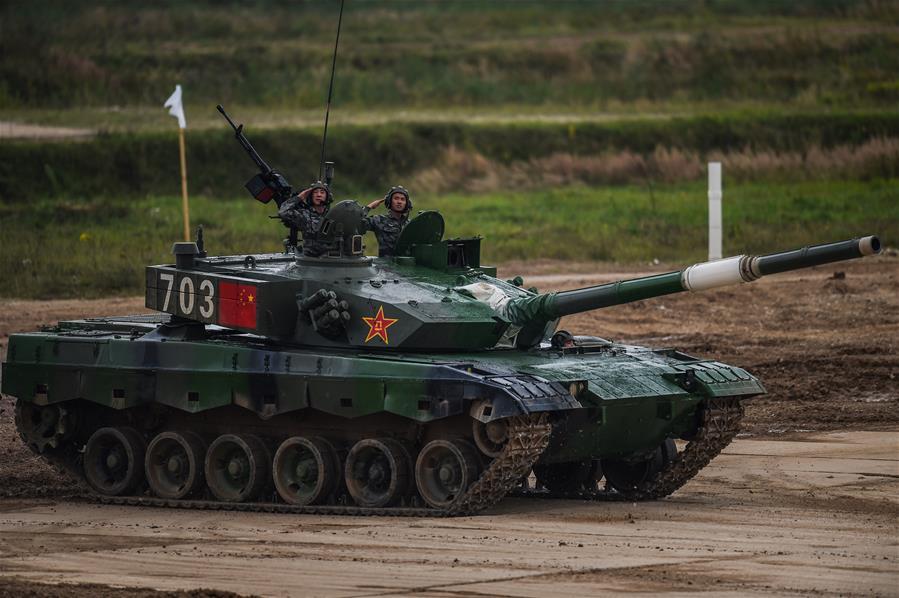 """""""國際軍事比賽-2020""""""""坦克兩項""""項目單車賽收官"""