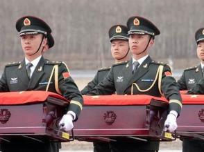 中韓將交接第七批在韓中國人民志願軍烈士遺骸