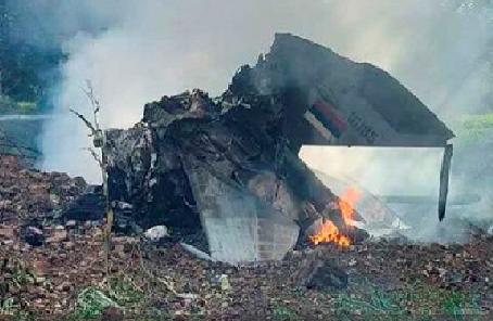 塞爾維亞一架軍機墜毀致一名飛行員喪生