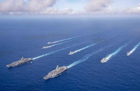 """美海軍考慮艦船""""擴容""""至500艘"""