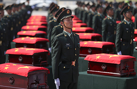 中国志愿军遗骸_新华军网