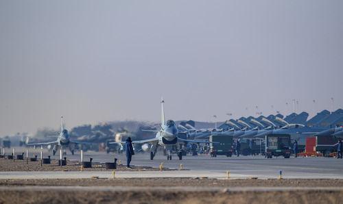 空軍某試驗訓練基地:戈壁深處崛起軍事科技人才高地
