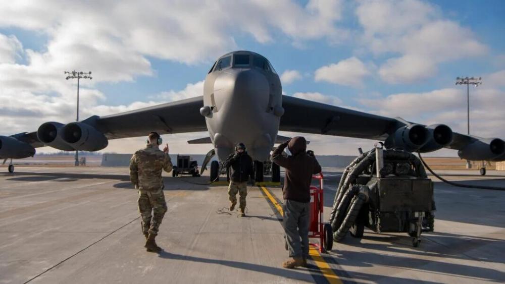 美軍向中東部署4架B-52H 係今年第二次