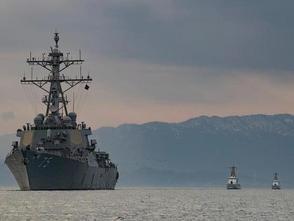 俄艦隊對進入黑海的美國軍艦進行監視