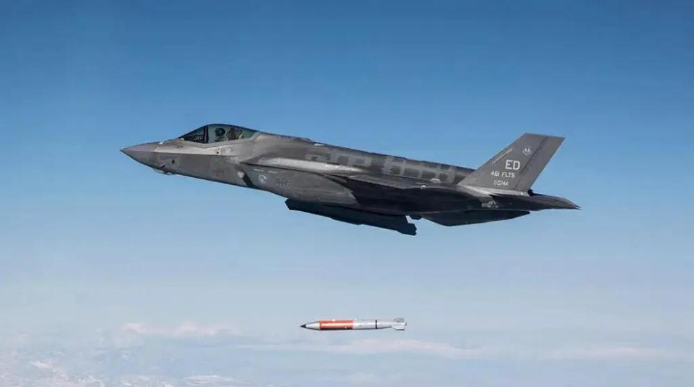 美國首次公布五代機測試投擲核彈視頻
