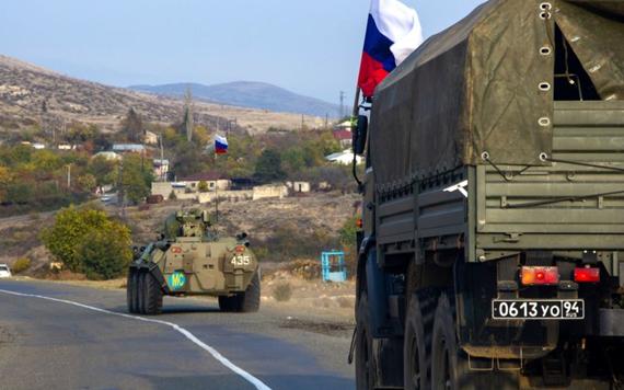 俄軍官在納卡地區被地雷炸傷 另有一名阿塞拜疆軍人死亡
