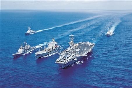 美放言在印太新建作戰艦隊