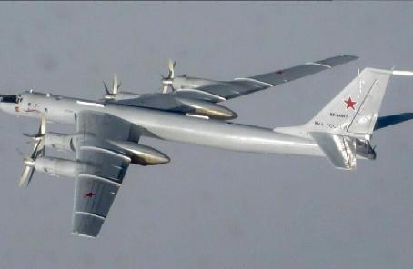俄軍圖142巡邏機完成在北極飛行任務 飛行路線長達7000公裏