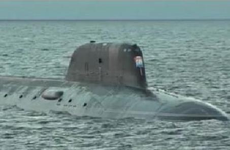 """俄羅斯""""喀山""""號核潛艇成功試射導彈"""