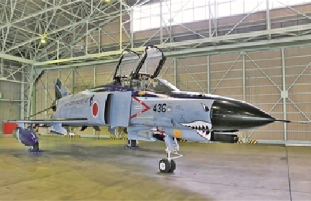 """最後的""""鬼怪""""——日本航空自衛隊F-4EJ""""鬼怪""""Ⅱ戰鬥機結束戰鬥飛行"""
