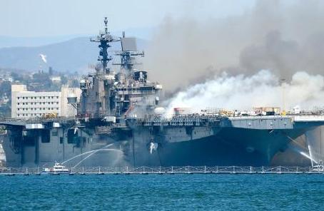 美軍為何選擇直接將起火準航母報廢?修理費是造價近3倍