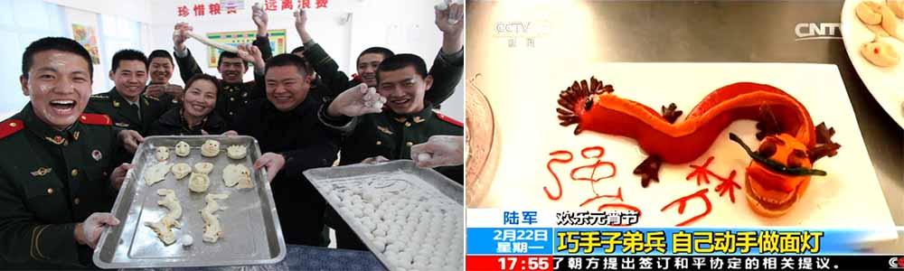 歡樂元宵節 陸軍:巧手子弟兵 自己動手做面燈