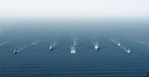 埃及和美國舉行聯合海上軍演