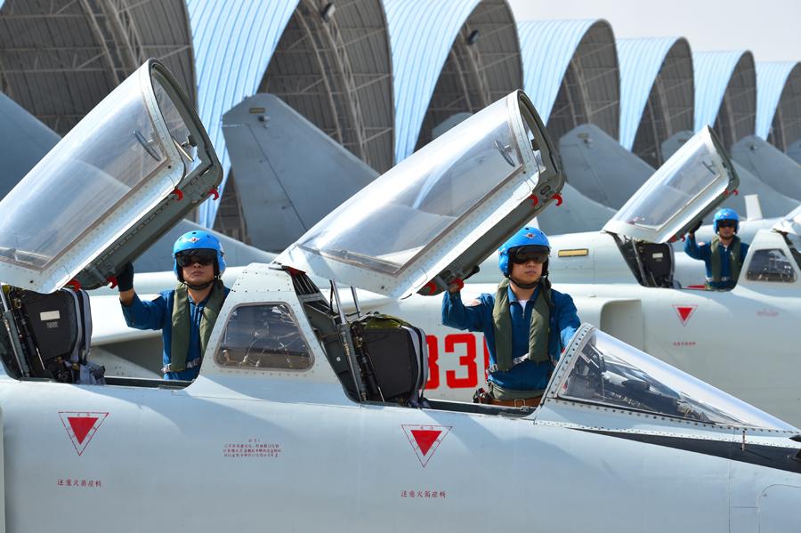 海军南海舰队航空兵某飞行团矢志改革强军纪实