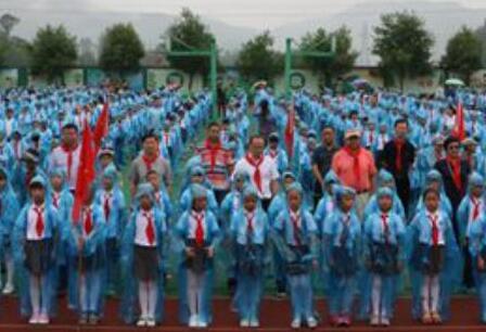 231所紅軍小學再繼紅色基因 紅小旗幟在東海邊飄揚