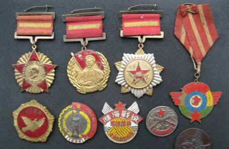 勳章見證軍人至高榮譽