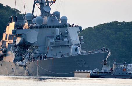 美軍為撞船罹難水兵辦追悼會:肇事菲船疑點很多