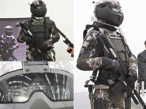 單兵外骨骼:打造未來超級戰士