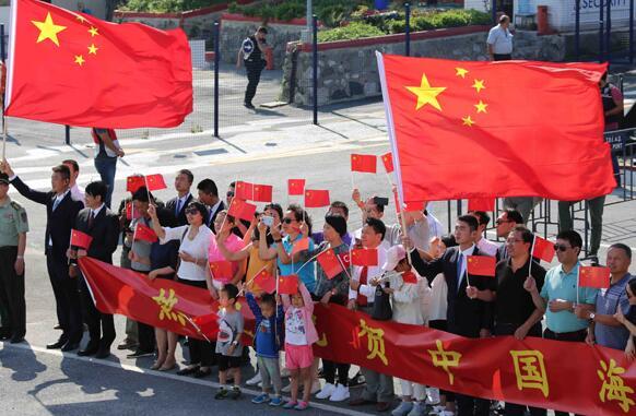 中國海軍遠航訪問編隊結束訪問土耳其
