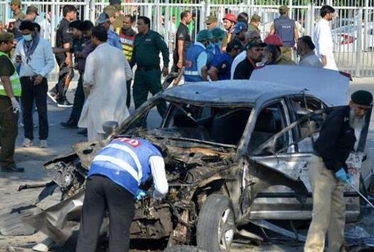 巴基斯坦自殺式炸彈襲擊死亡人數增至26人