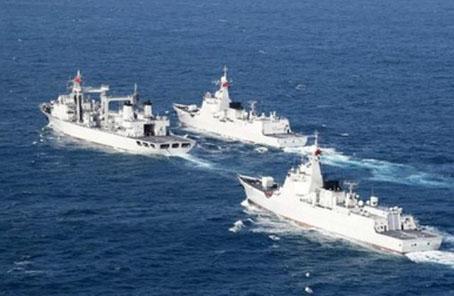 外媒稱中俄軍演轉入海上實兵階段 引發北約密切盯防