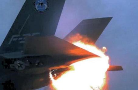 F-35發動機起火原因查明:禍首是一股風