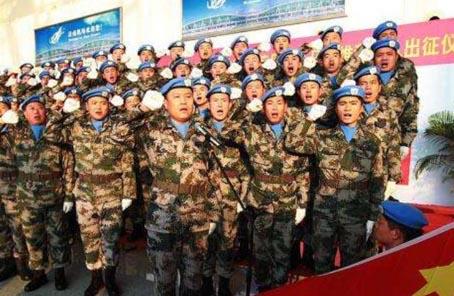 90年90個第一丨第一次派遣部隊參加維和行動