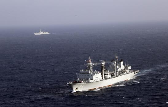 直擊中國海軍174艦艇編隊大西洋演練反恐反海盜