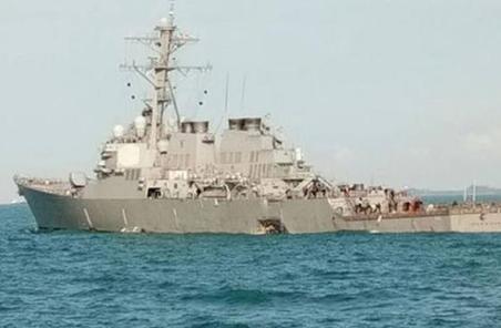 新加坡搜尋10名美國水兵:願給美國朋友任何幫助