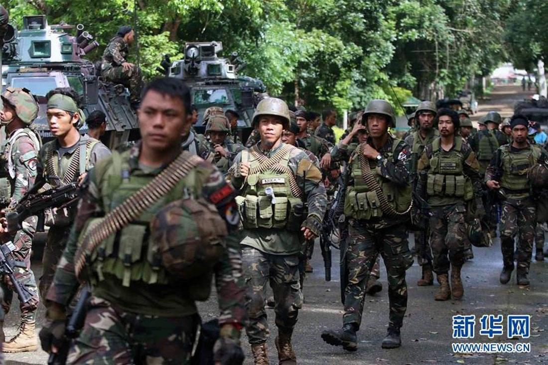 菲律賓軍方説馬拉維戰事即將結束